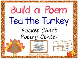 Build a Poem: Ted the Turkey - Pocket Chart Center