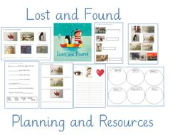 Lost and Found 3 Week Planning and Resources