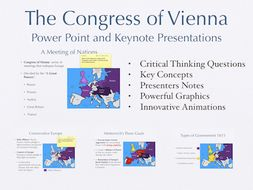 The Congress of Vienna Power Point and Keynote Presentations