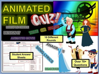 Film Movie end of Term Quiz