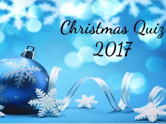 Christmas Quiz for End of Term