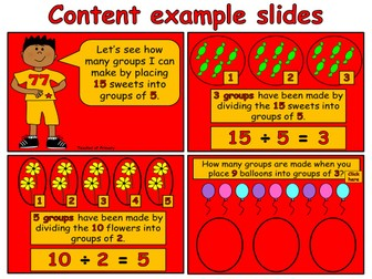 Beginning to Divide - Grouping (PowerPoint teaching resource)