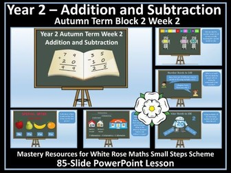 Addition and Subtraction: Year 2 - Autumn Term - PowerPoint Lesson - White Rose Maths